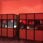 2 fully encapsulated booths at Master Card conference